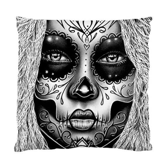 "1282168302 20/""x30/"" CafePress Sugar Skull WHITE Standard Size Pillow Case"