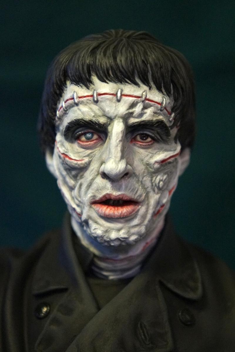 Christopher Lee as The Frankenstein Monster 1/6 Resin Model Kit from  Lambert Artworks