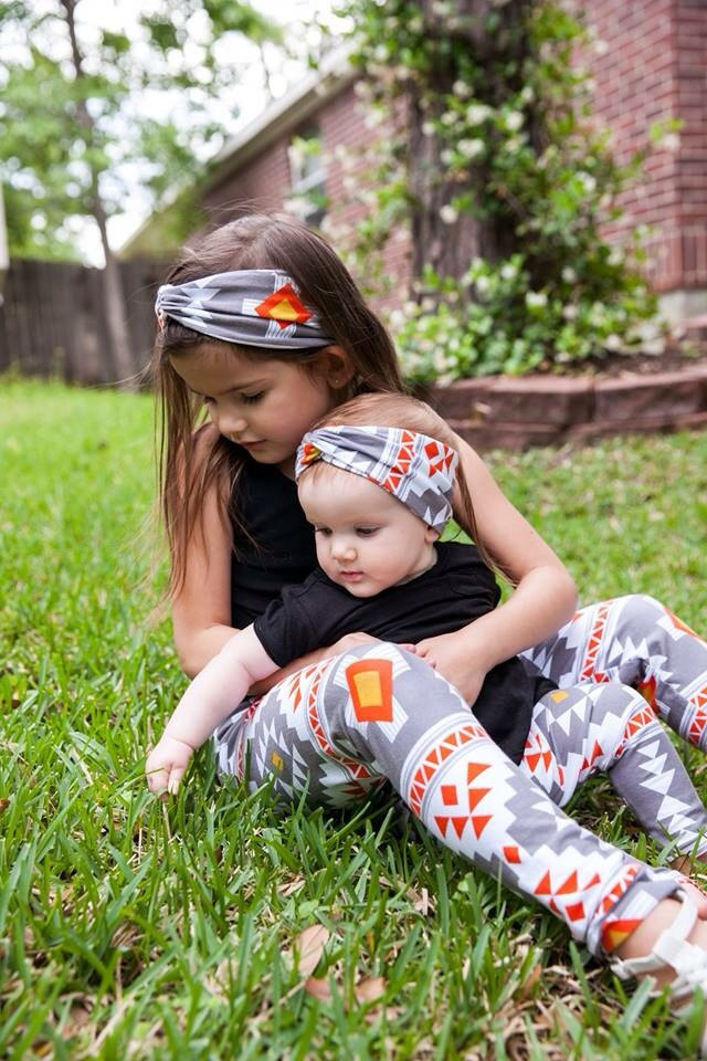 214127dc991b Baby Girl Clothes Baby Leggings Baby Turban Headband Set Leggings ...