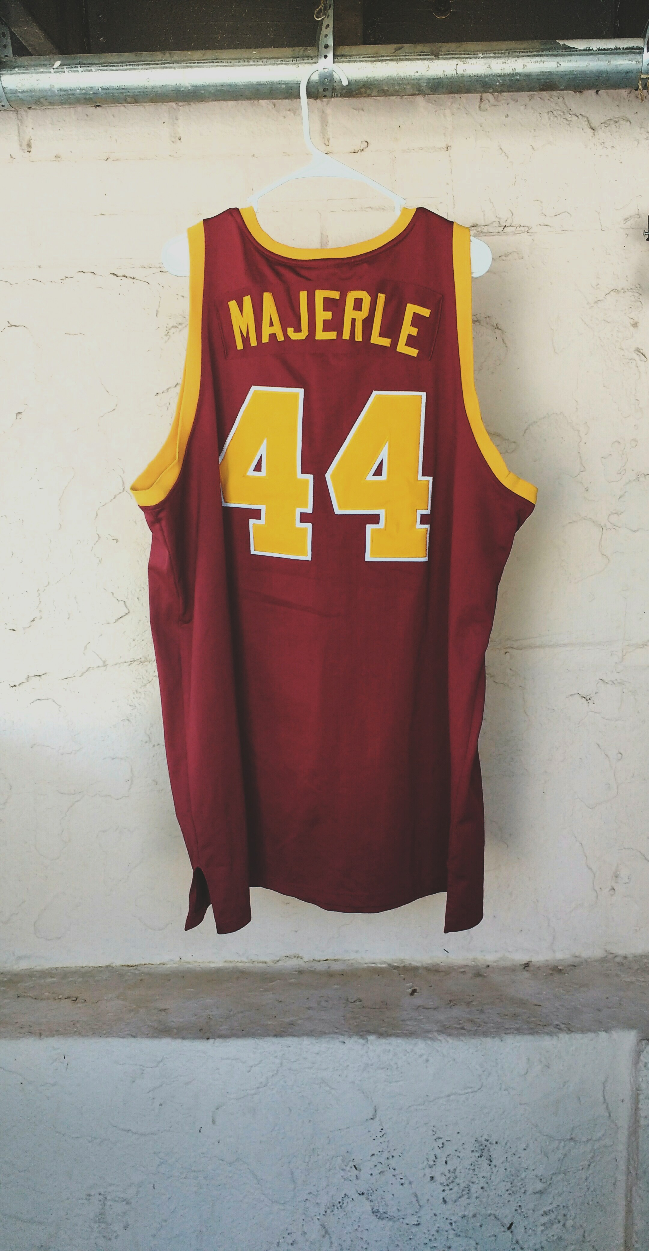 db91ab688 Vintage Adidas Dan Majerle Authentic Central Michigan Jersey Size 54 ...