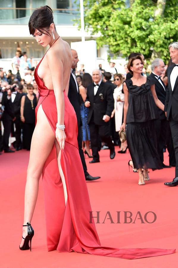 64a951c104 Celebrity Dress Mermaid Sexy Red Carpet Dress Halter Side Slit Satin  Backless Long Evening Dress Prom