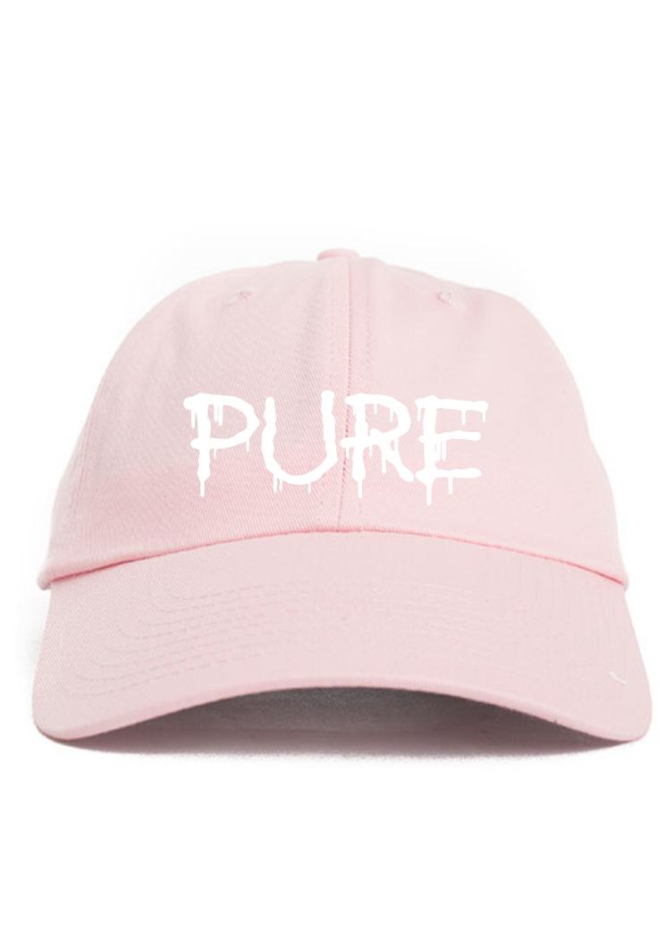 light pink baseball cap on Storenvy c46a893d66b