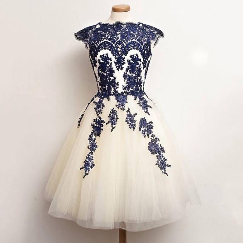 ab80277e71 Cap Sleeve Princess Homecoming Dresses