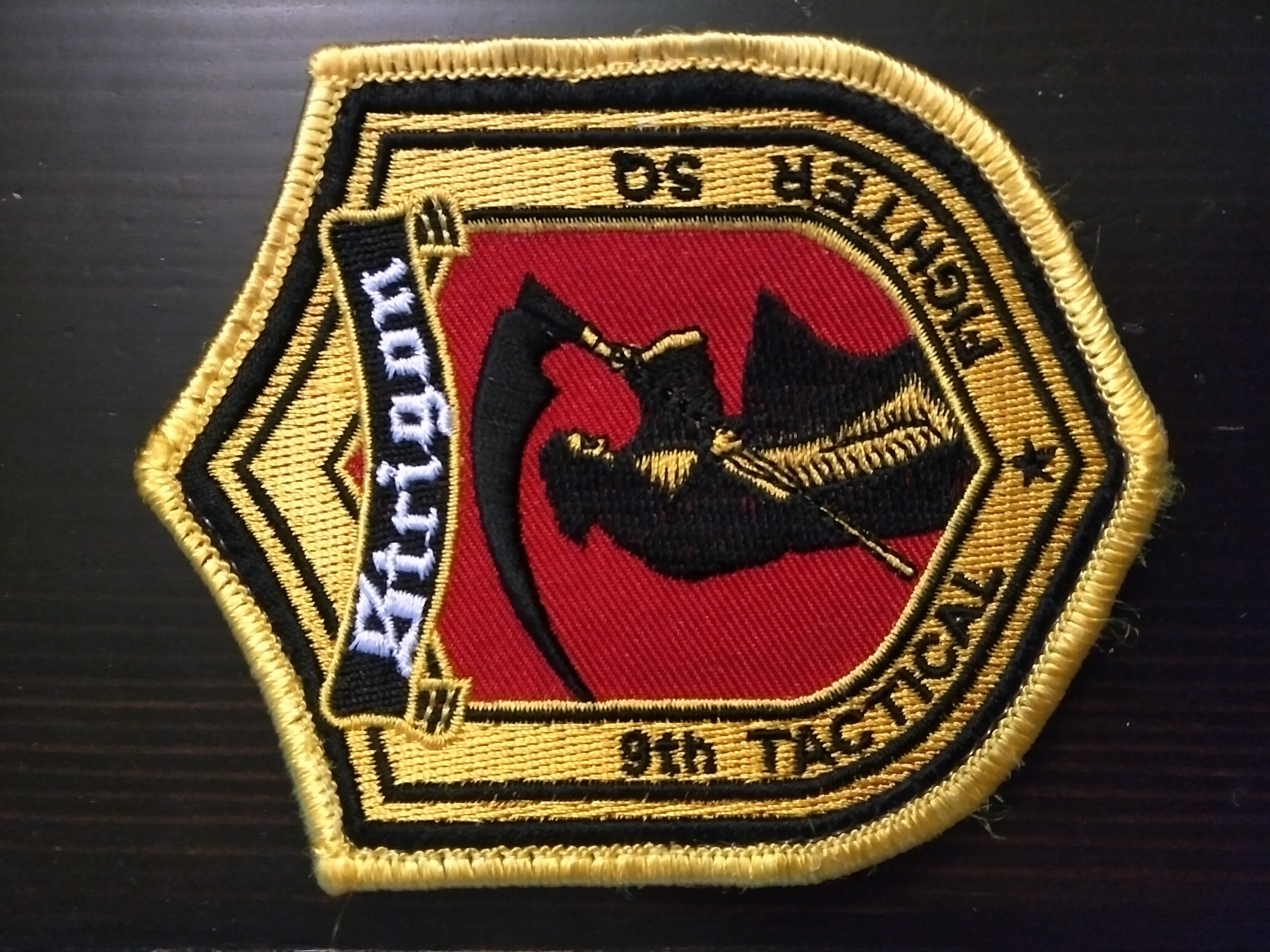 strigon squadron patch strangereal patch store online store powered by storenvy. Black Bedroom Furniture Sets. Home Design Ideas