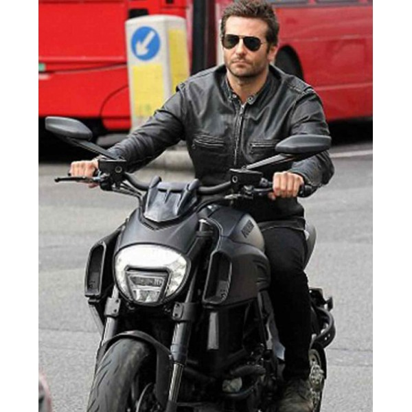 biker jacket leather motorcycle mens bradley cooper jackets sports rangoli burnt adam jones guy collections collection seller