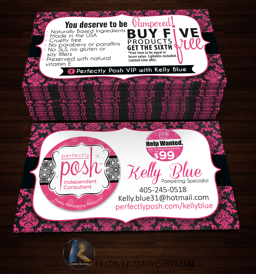Perfectly posh business cards 7 on storenvy perfectly20posh20business20card207original magicingreecefo Choice Image