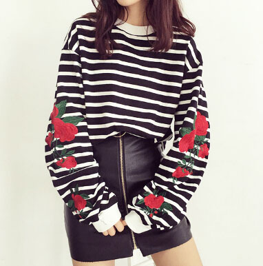 ROSE STRIPED SWEATER on Storenvy