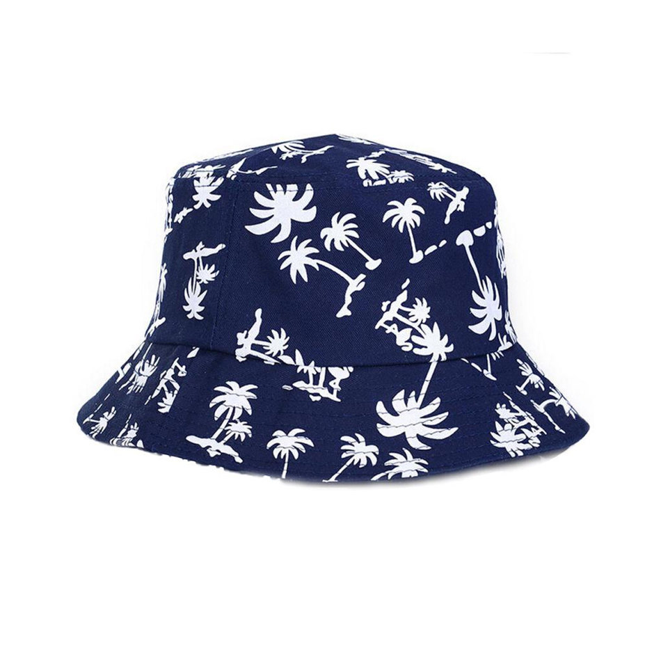 8b4141c19bec91 Palm Paradise Navy Blue & White Bucket Hat By HipHopApparel.com on ...