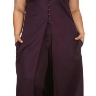 f491f0f858c Quisha long jacket pant set