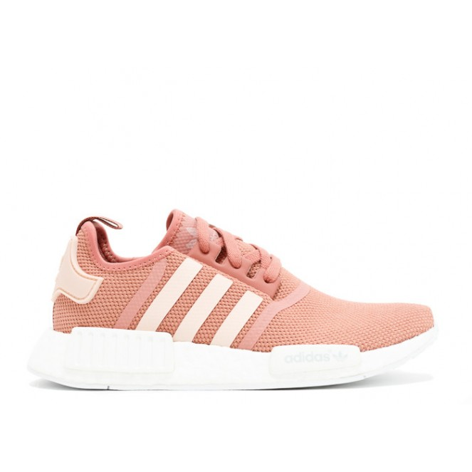6736a4a06cf56 NMD R1 Raw Pink Womens Fashion casual shoes on Storenvy