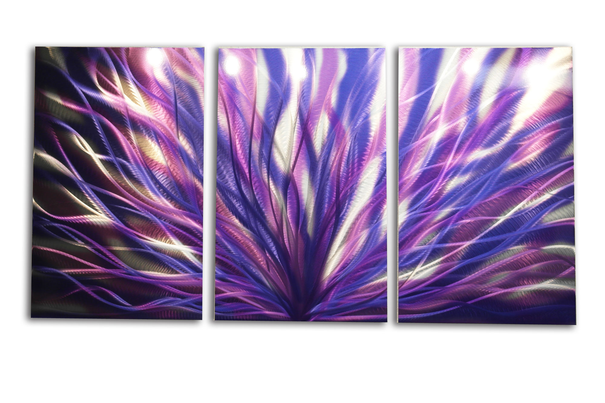 Radiance Purple 47 - Metal Wall Art Abstract Sculpture Modern Decor- - Thumbnail ...  sc 1 st  Inspiring Art Gallery & Radiance Purple 47 - Metal Wall Art Abstract Sculpture Modern Decor ...