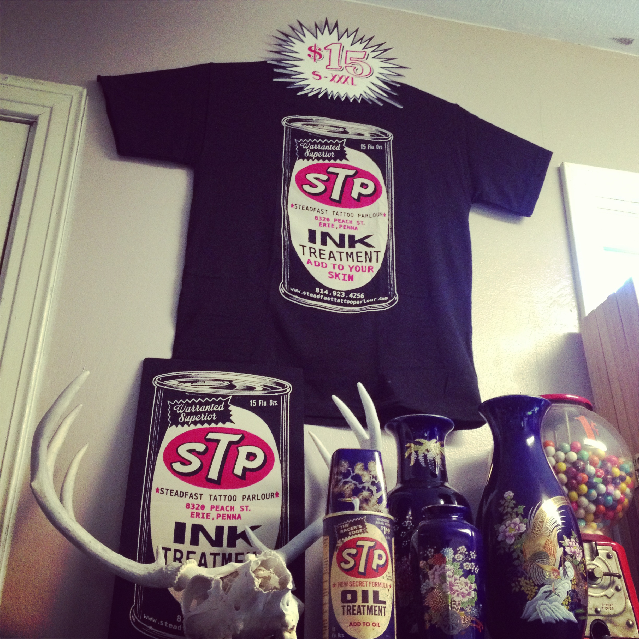 cf4cde2717015 STP Oil · Steadfast Tattoo Parlour · Online Store Powered by Storenvy