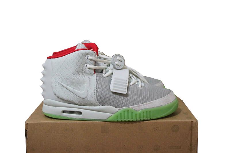 fe0ee2169102b Authentic UA Nike Air Yeezy 2 Wolf Grey Pure Platinum on Storenvy