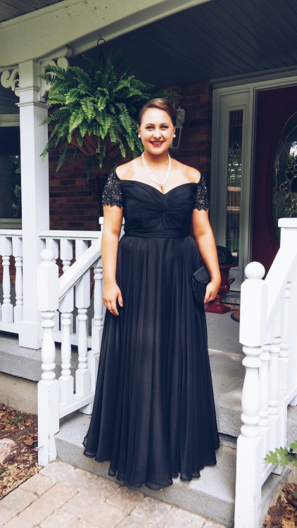 A290 Off The Shoulder Short Sleeve Prom Dress Plus Size Women Prom