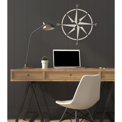 Mariner S Compass Wall Stencil Diy Wall Art For Quick