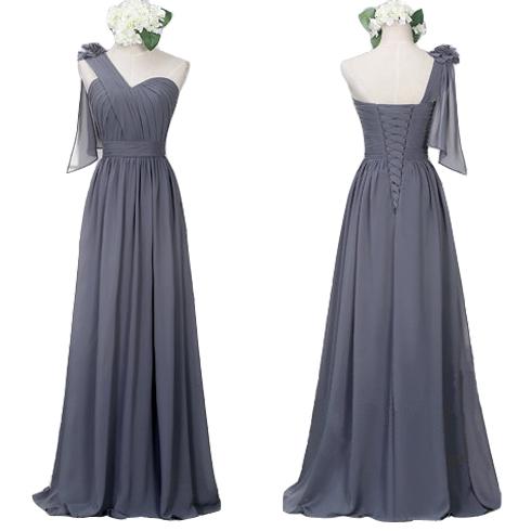 775eff32b6 One Shoulder Bridesmaid Dresses