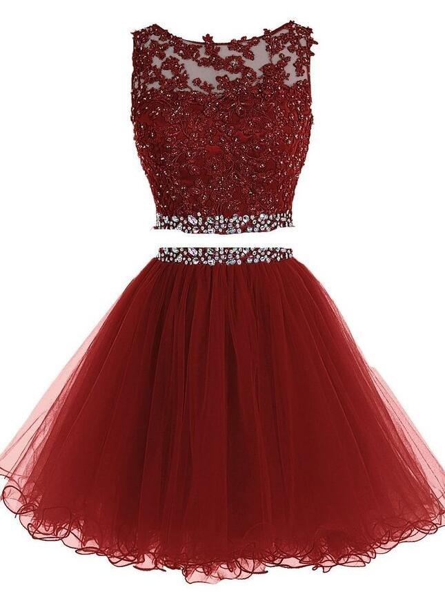 6782a78d3b6 Beading Short Prom Dress