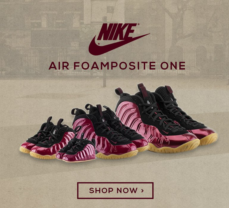 official photos 67772 4c3a0 NIKE LITTLE POSITE ONE 'NIGHT MAROON' (NIGHT MAROON | BLACK | GUM | LIGHT  BROWN