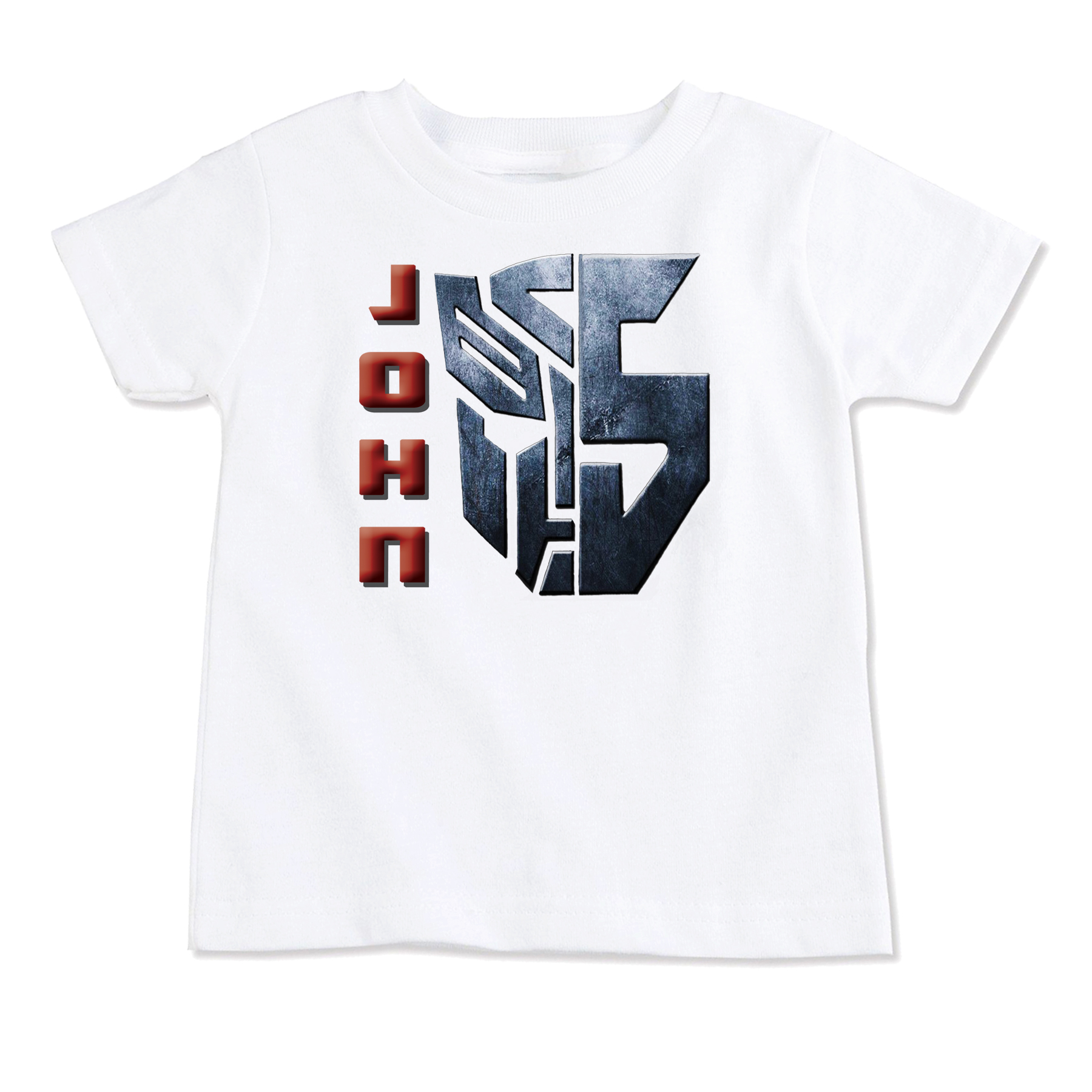 Transformers Superhero T Shirt Top Birthday Toddler