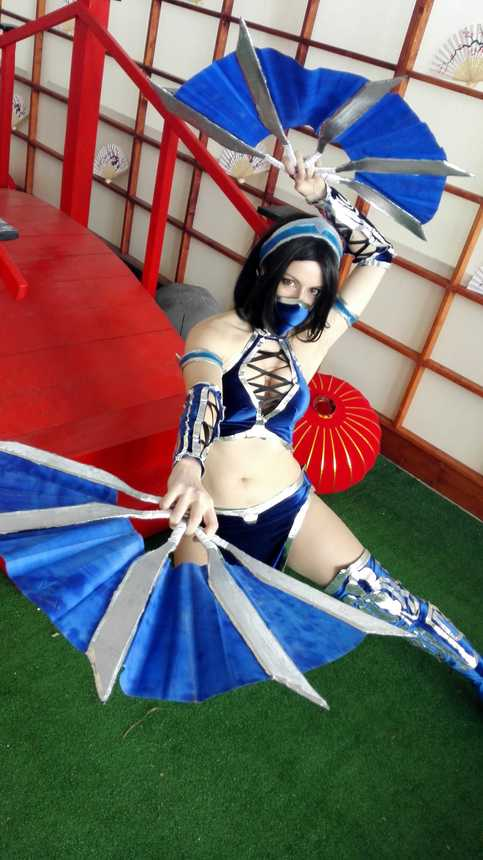 Kitana - Mortal Kombat Cosplay Print 2 on Storenvy