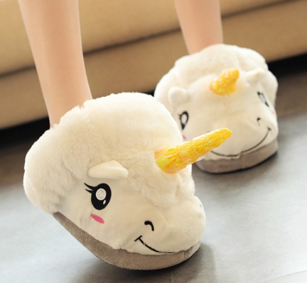 1 Pc Unisex kids children Indoor Plush Unicorn Slippers Cosplay Costumes  shoes on Storenvy da485c0ef