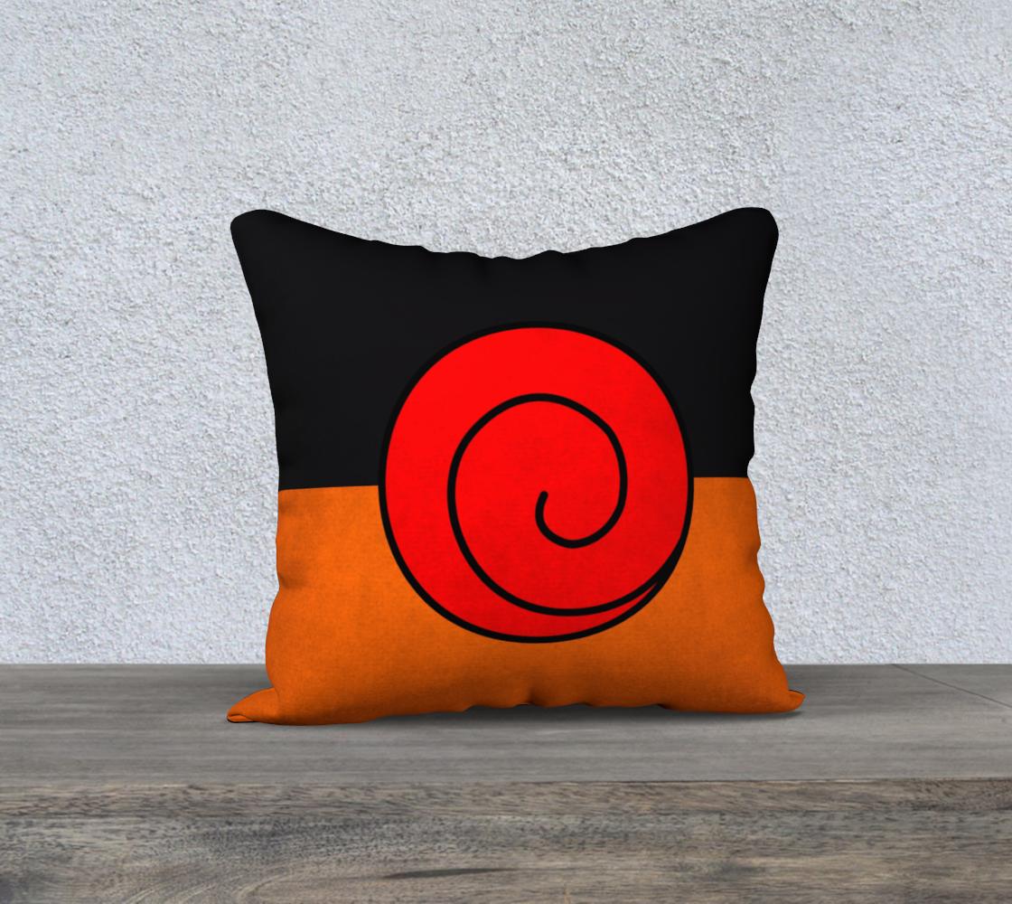 Pleasant Uzumaki Throw Pillow Cases Naruto Uzumaki Pillow Case Printed On Size 18X18 Throw Pillows Sold By Artofprintz Machost Co Dining Chair Design Ideas Machostcouk