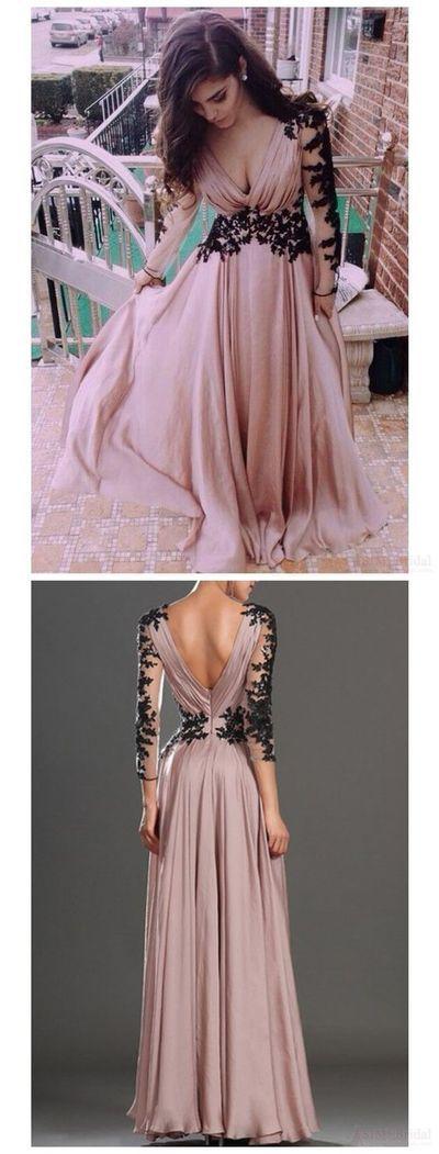 P185 Blush Pink Prom Dresses,Vintage Prom Gown,Women Boho Long ...