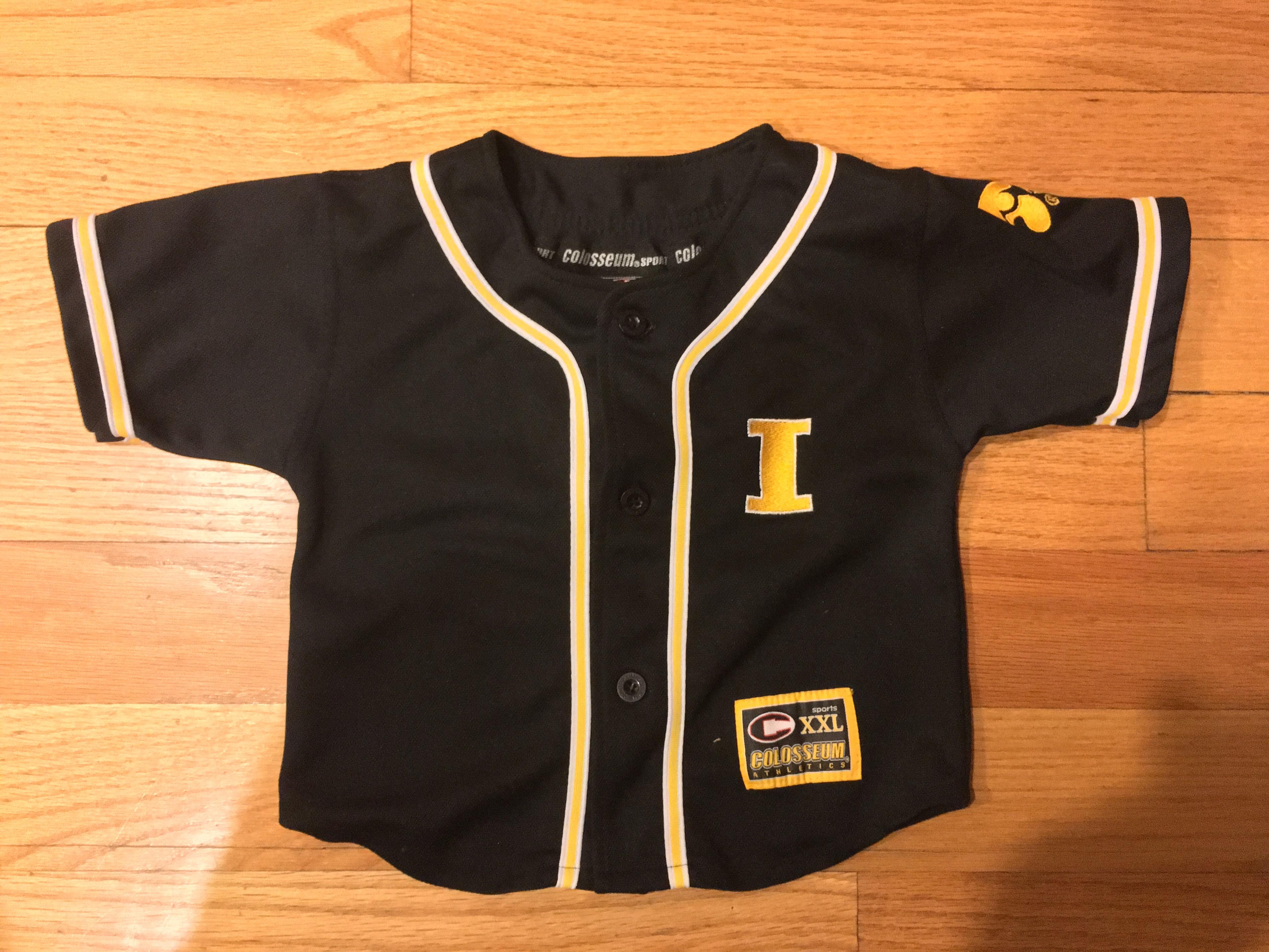 hot sale online bf512 c9844 Youth NCAA Iowa Hawkeyes Baseball Jersey sold by KcThreadsNTech