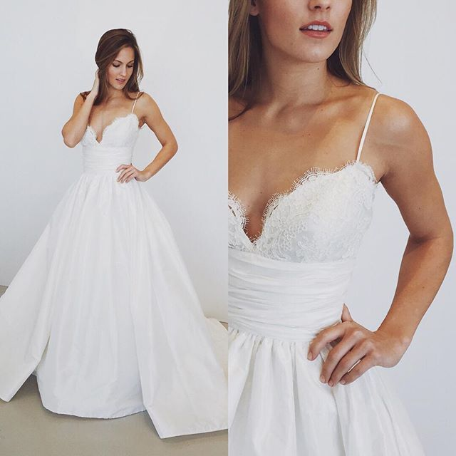 7d5a04aecfb 2017 White Long Wedding Dress, Straps Long Wedding Dress 2017 ...