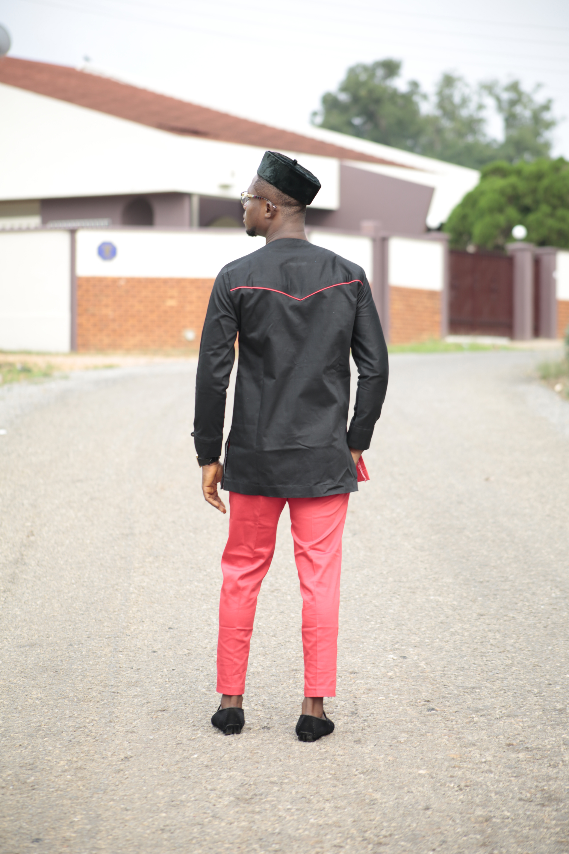 1e6e0490823 ... Kente   Black cotton Men s African Clothing Men s Fashion African Men s  wear ...