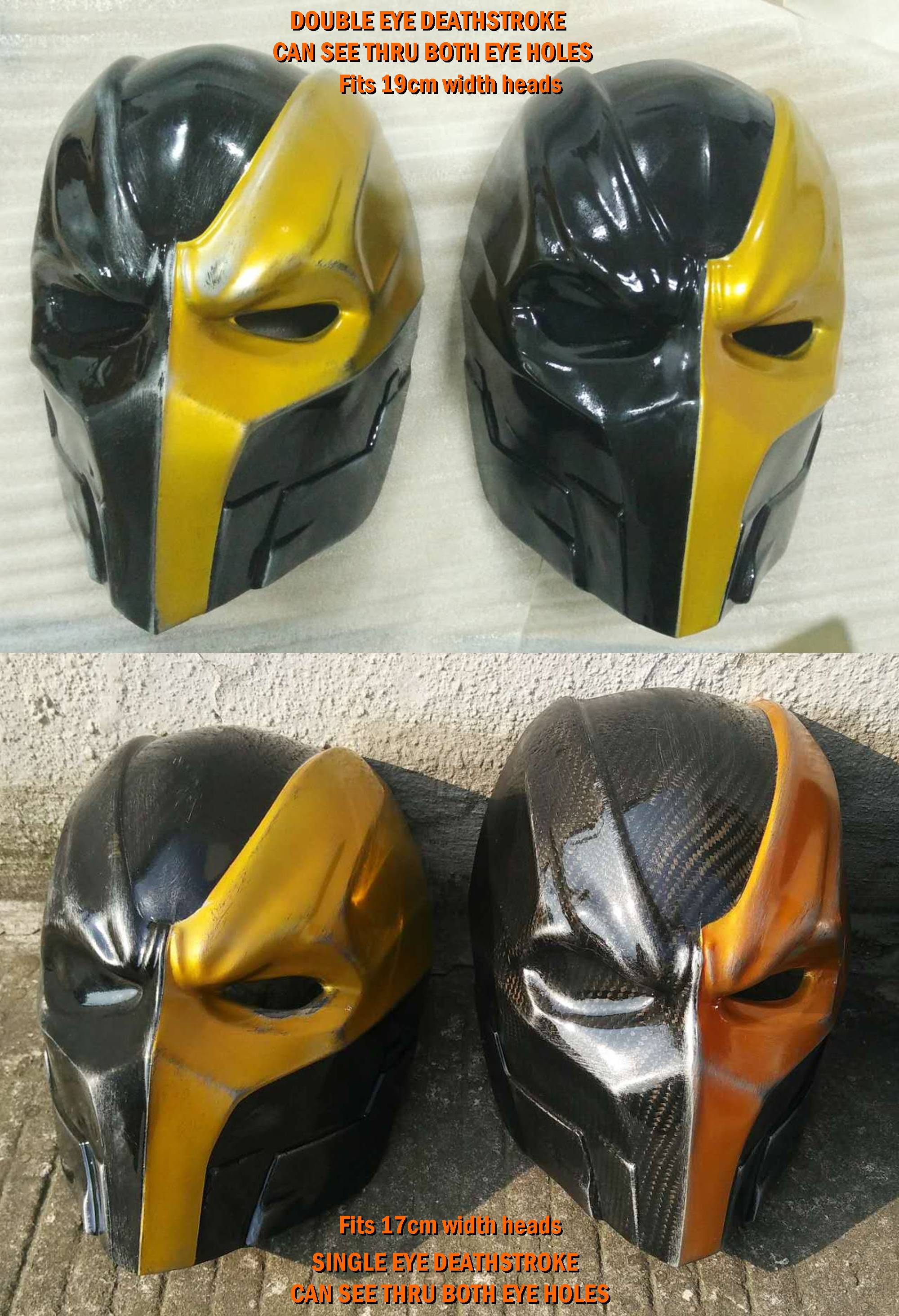 Deathstroke Carbon Fiber Helmet On Storenvy