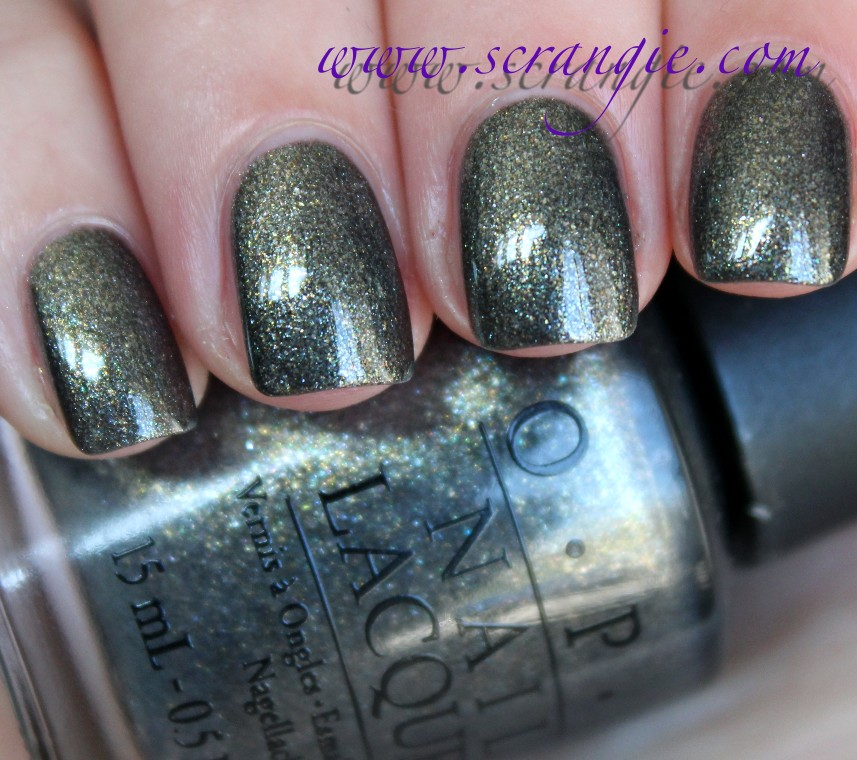 OPI Number One Nemesis from the \'Amazing Spider-Man\' Collection Nail ...