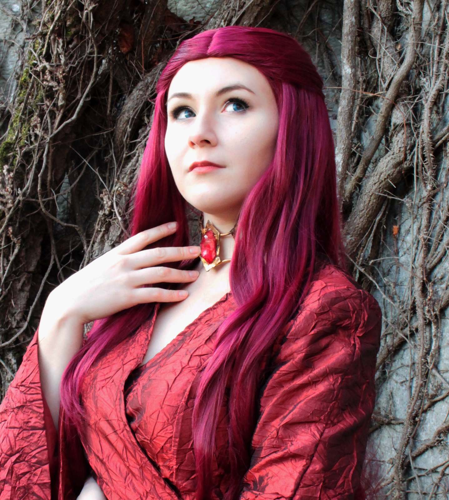 Góra Melisandre Necklace - Game of Thrones prop cosplay on Storenvy MA36