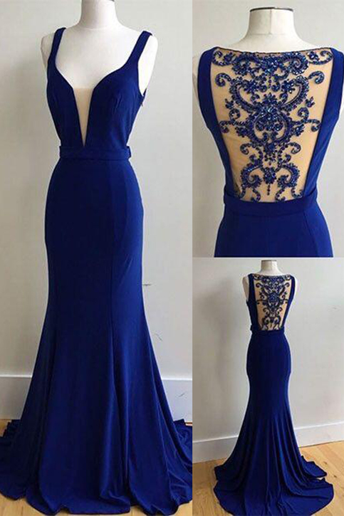 Cheap Prom Dresses By Sweetheartdress 183 Elegant Royal Blue