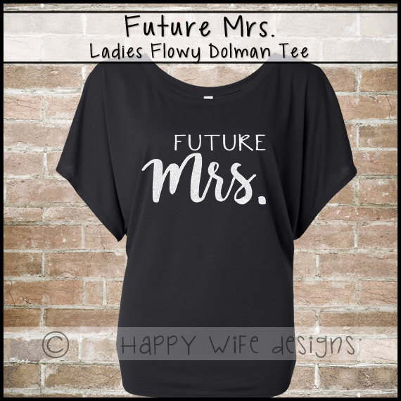 7b0b32863a2e3 Future Mrs Shirt - Mrs Shirt - Future Mrs Tee - Bridal Shirt - Off the  Shoulder Shirt
