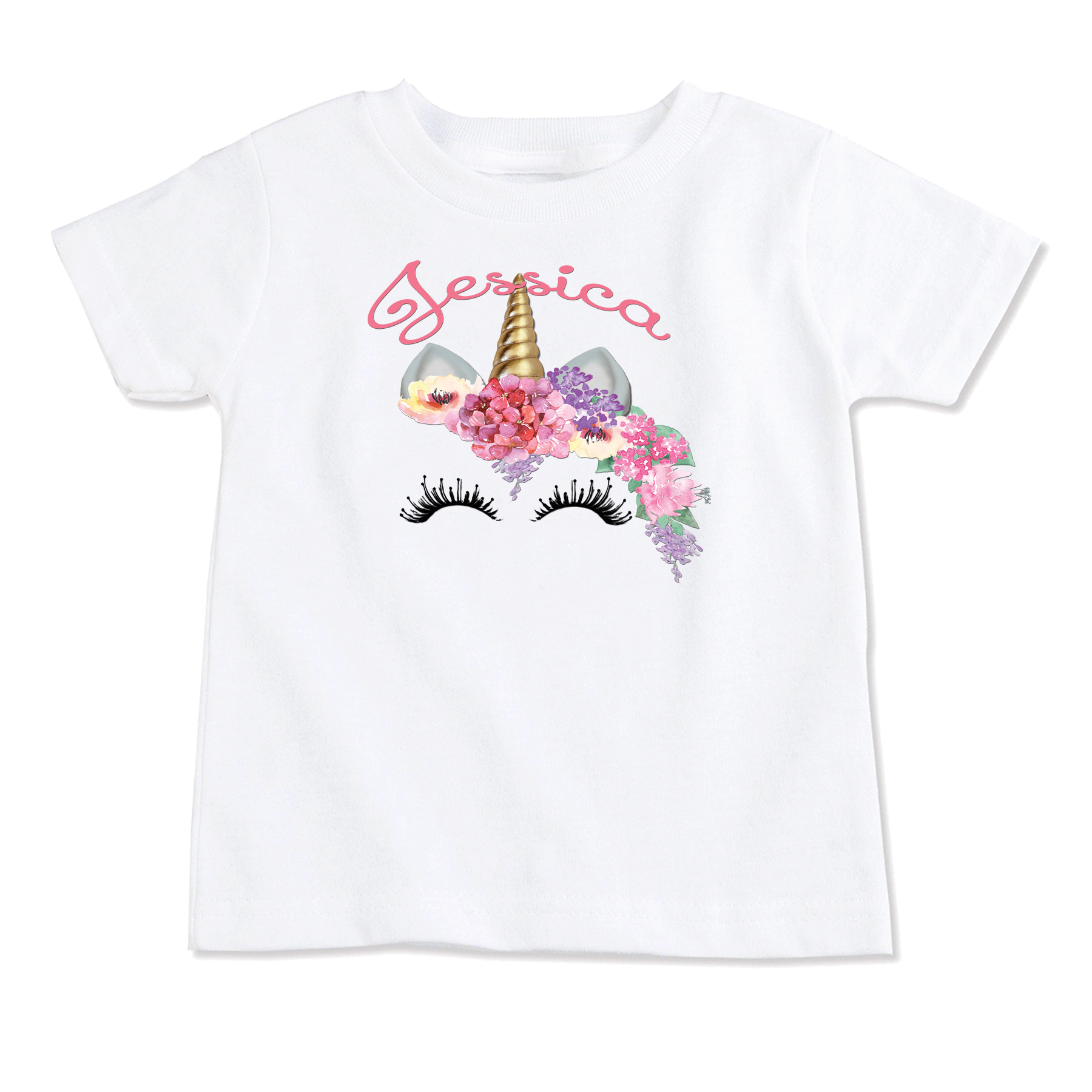 Unicorn Personalized Onesie T Shirt Top Birthday Toddler Kids Tops Custom On Storenvy