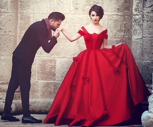 Red Prom Dresses, Elegant Prom Dress,Gorgeous Prom Dresses,Off ...