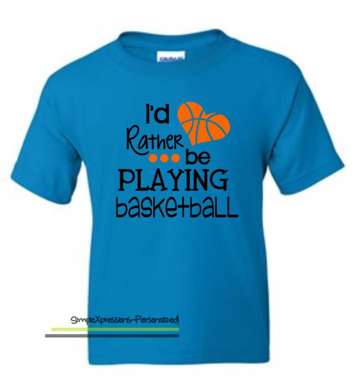 Girls Basketball Shirt | Choose from 4 designs | Youth ...