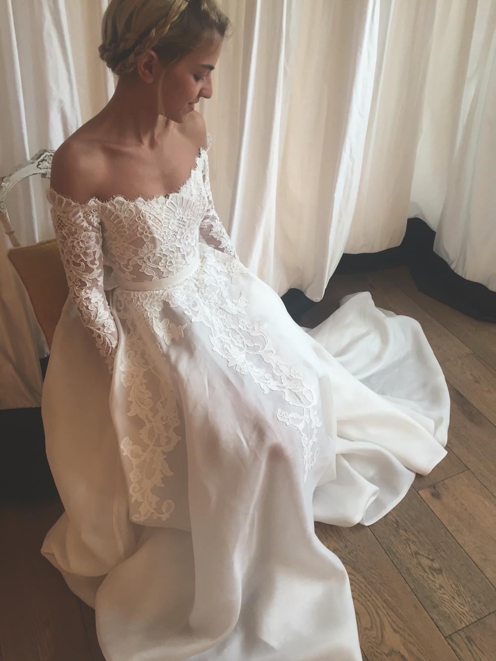 wd35 long sleeve lace charming wedding dresses,wedding dress custom made  wedding gown, soldwisdom dress