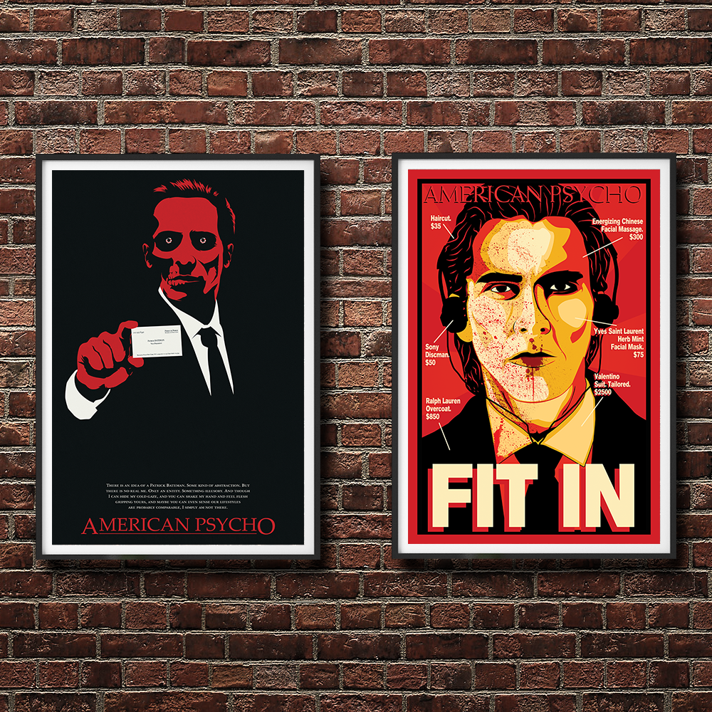 20 Off American Psycho 2 Pack Theres An Idea And Fit In Prints
