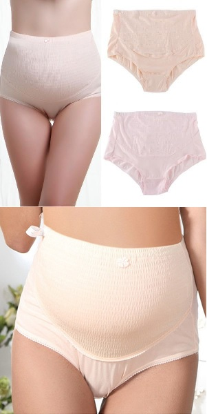 973a74cfd19 Pregnant Women Expectant Mother Cotton Hold Abdominal High-Waisted  Adjustable Underwear Briefs