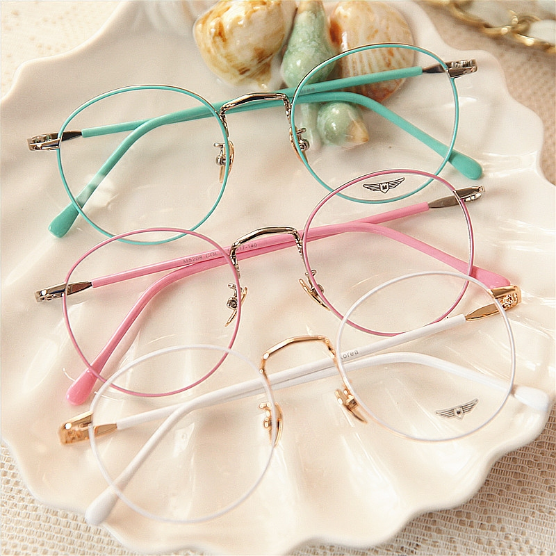 58536ef43528b Vintage Candy Color Round Glasses on Storenvy