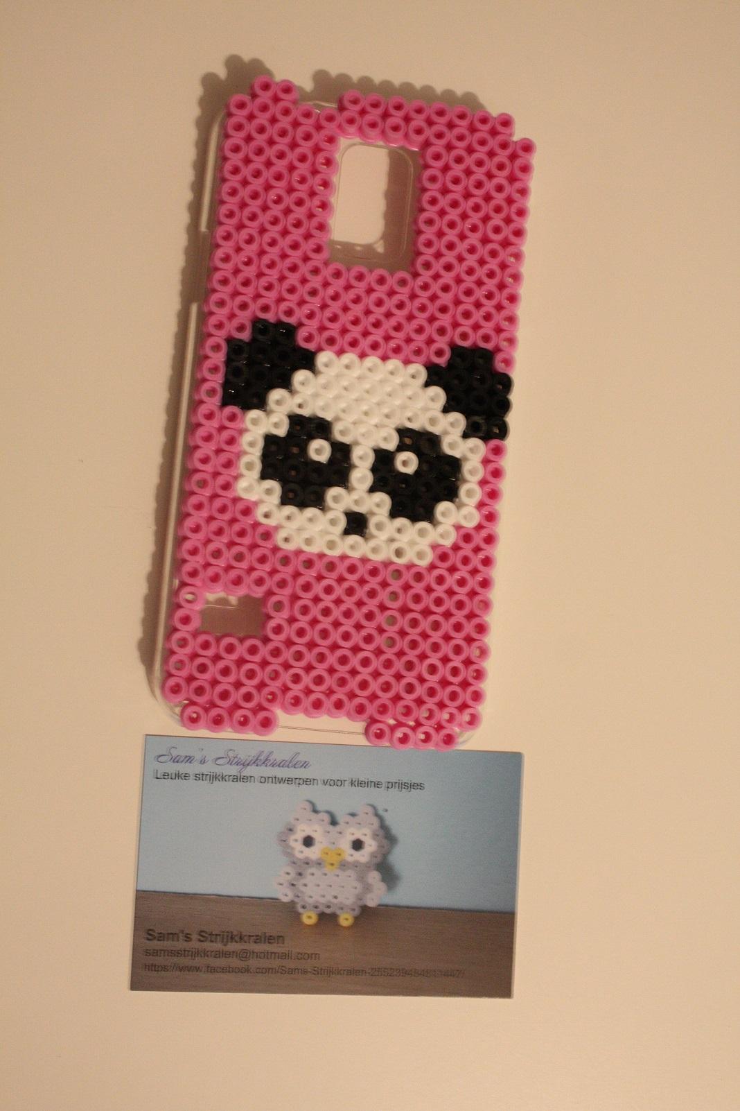 Panda Perler Phone Case Samsung Galaxy S5 On Storenvy