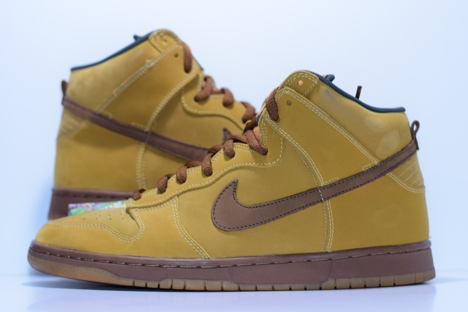 1067f958 Size 11.5 | 2002 Nike Dunk SB WHEAT High 305050-221 on Storenvy