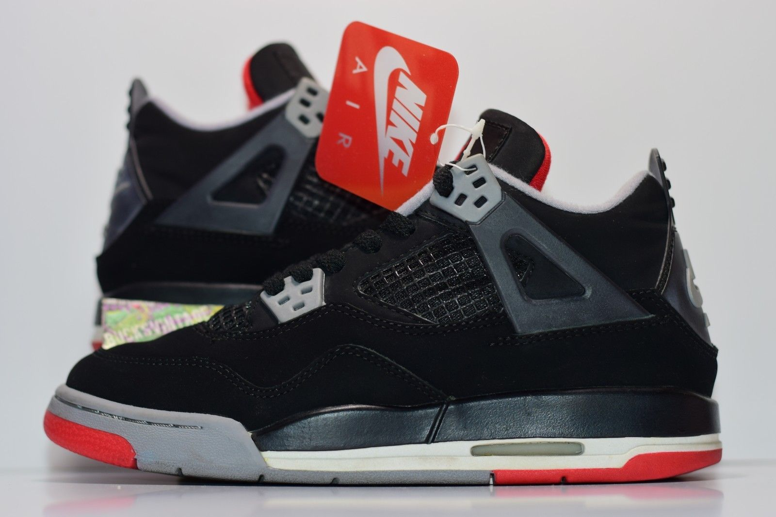 best authentic 62b3e c154d Size 5   1999 Nike Air Jordan IV 4 BRED OG Authentic 136013-001