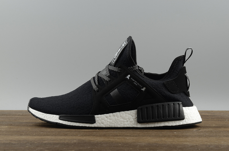 low priced 670d6 6172a NMD X Mastermind fashion running shoes All black from supplier