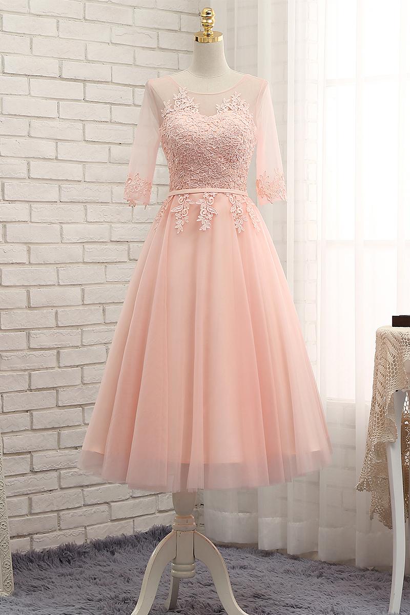 Cute Short Pink Prom Dresses
