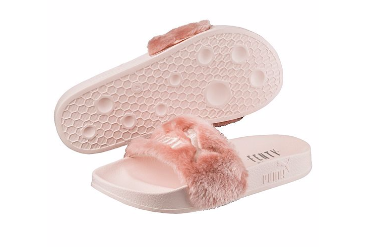 separation shoes c3472 4cb70 Fashion Classic Fenty Slippers pink sold by BELLDRESS