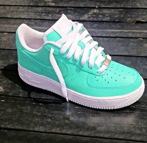 meet 572e4 6f3f5 Cyan Sky Blue   White Air Force One AF1 Low