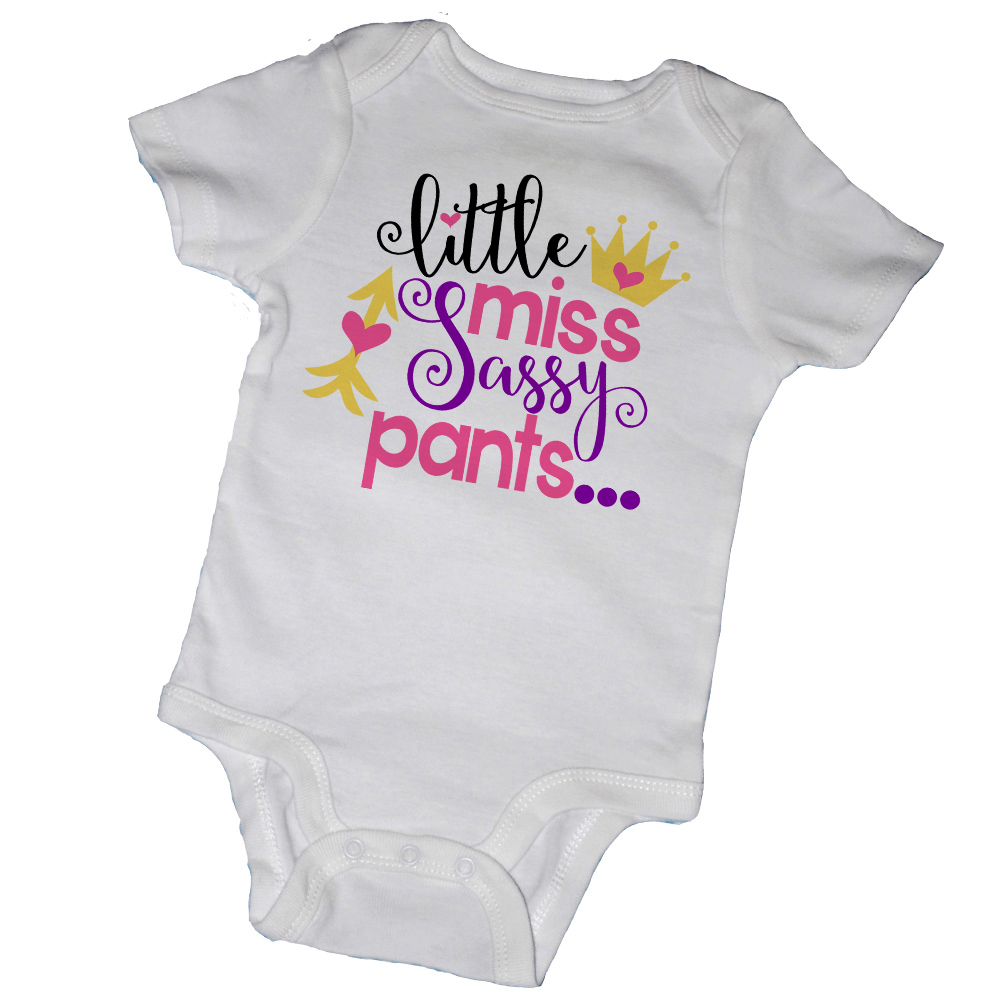 d9d654cf LITTLE MISS SASSY PANTS BABY BODYSUITS & TOT TEES on Storenvy